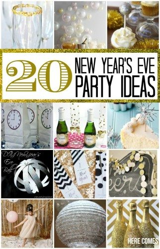 New Ideas For Modern Bathroom Trends 2020: 20 New Year's Eve Party Ideas