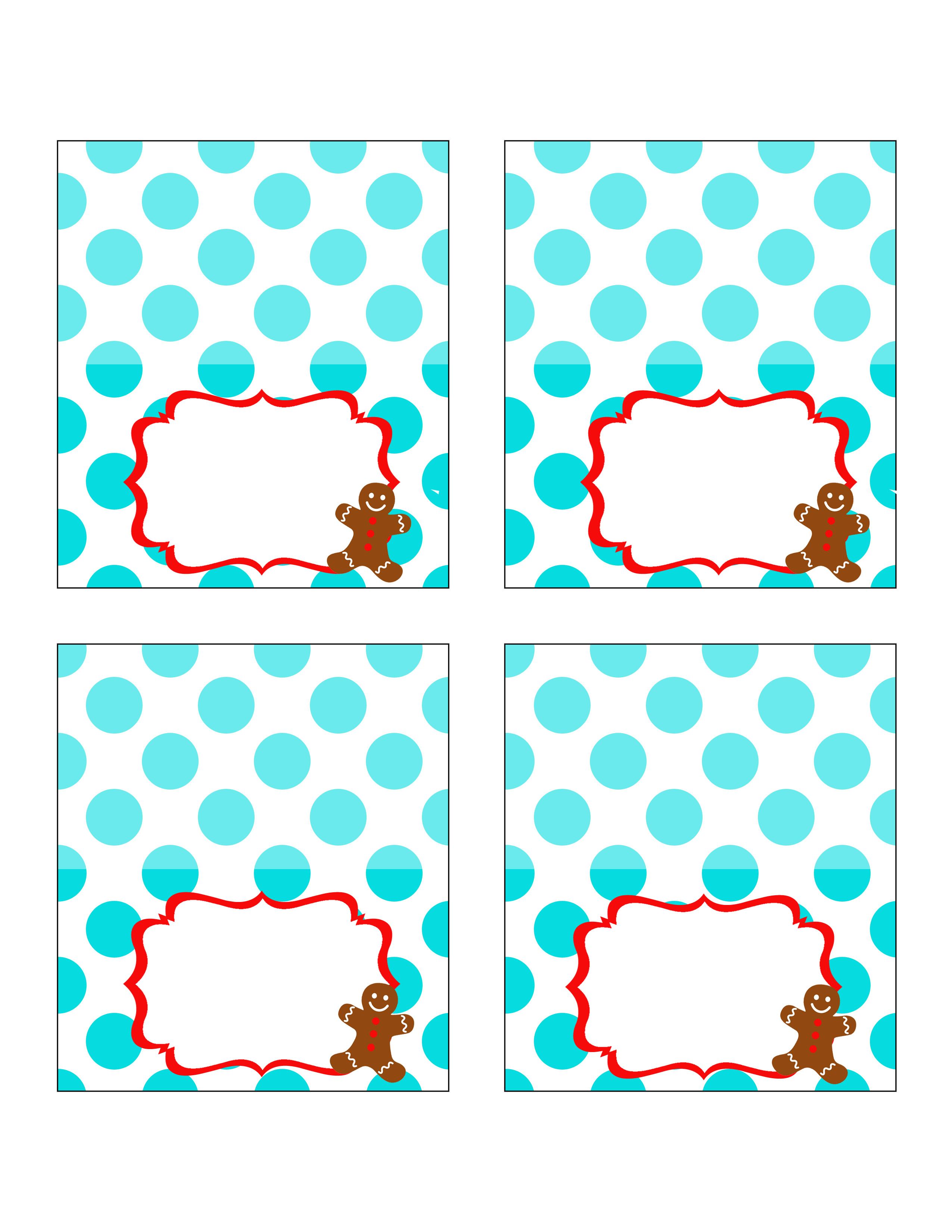Cookie exchange party free printables uncommon designs 35x4 tent cards maxwellsz