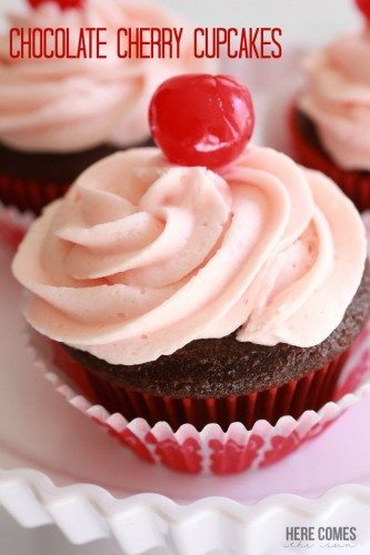 Chocolate-Cherry-Cupcakes