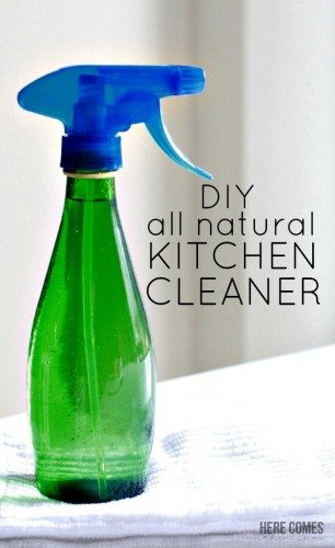 Kitchen Cleaner That Gets Grease Spots Off Walls