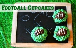Football Cupcake Recipe