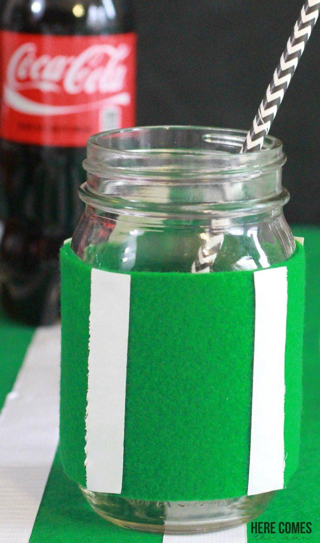 Make this delicious Coca Cola Football Float for the Big Game! #PrepareToParty #ad