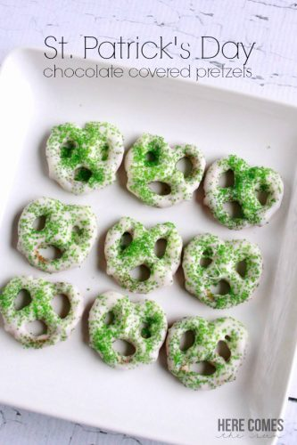 Saint-Patricks-Day-Chocolate-Covered-Pretzels-title