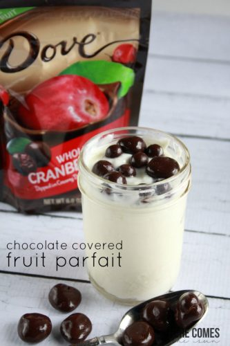 Chocolate Covered Fruit Parfait - Here Comes The Sun