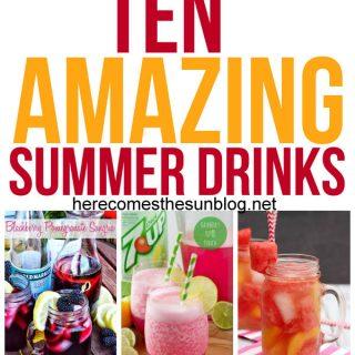 10 Amazing Summer Drink Recipes