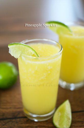 Pineapple-Sparkler