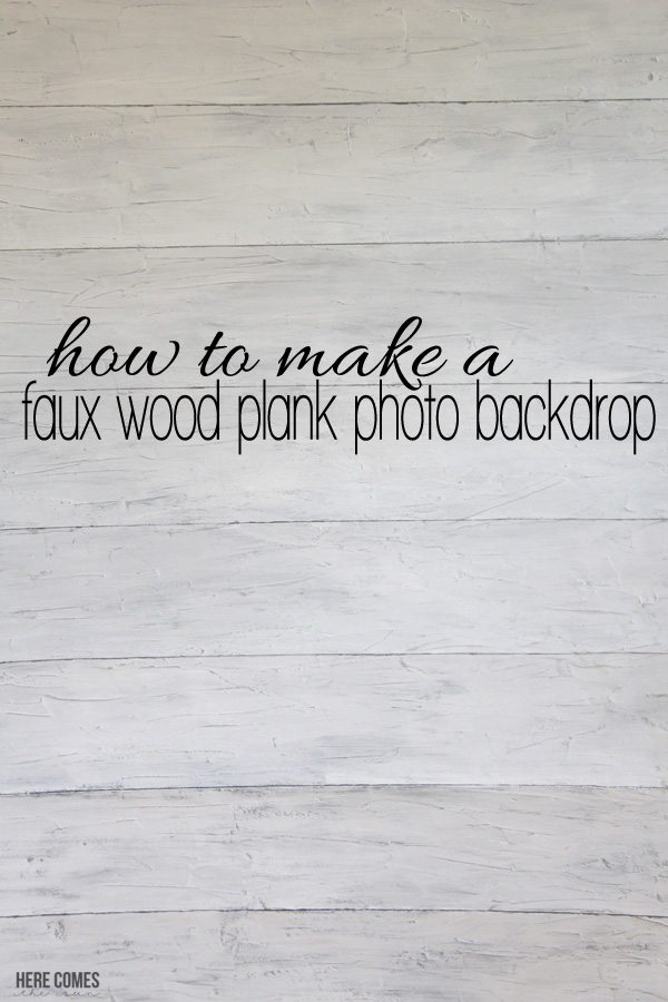 how to make a backdrop stand out of wood