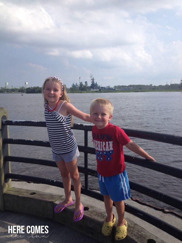 july 4 river