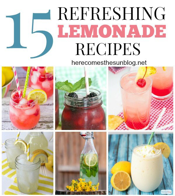 15-Refreshing-Lemonade-Recipes-title featured