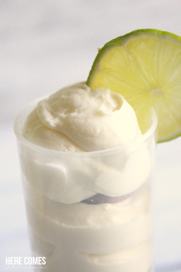 Key Lime Cheesecake Push Pops are the perfect celebration treat!