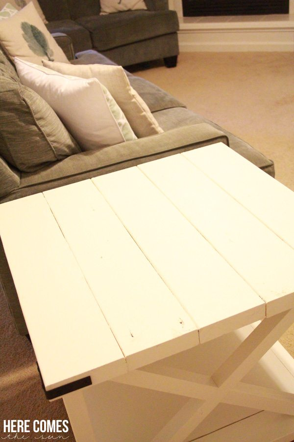DIY X-Brace Table... a great weekend project.