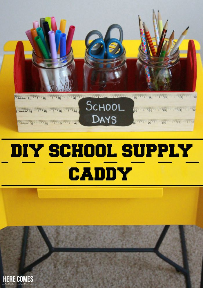 School Supply Caddy-title
