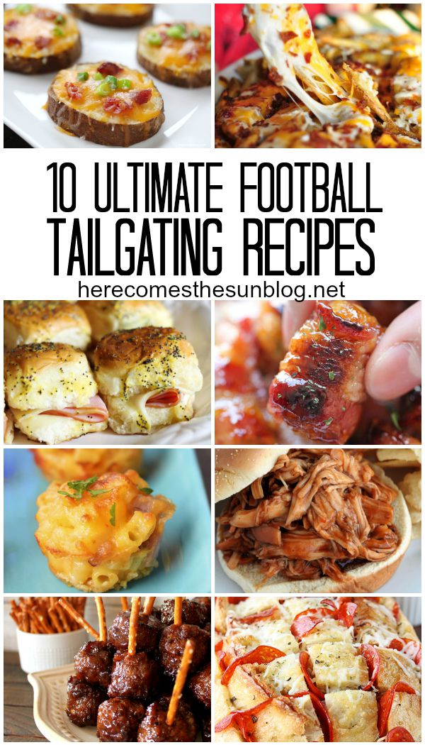 Serve up a winning gameday spread with these 10 ultimate football tailgating recipes