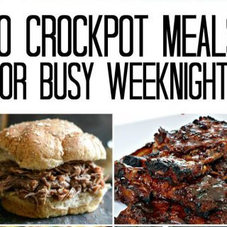 10 Crockpot Meals for Busy Weeknights