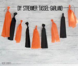 DIY Streamer Tassel Garland