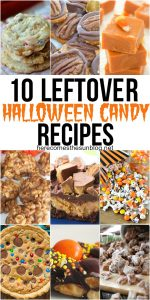 10 Leftover Halloween Candy Recipes