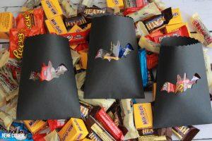 Halloween Peek-A-Boo Treat Bags