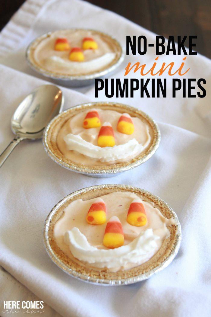 no-bake-mini-pumpkin-pies-title
