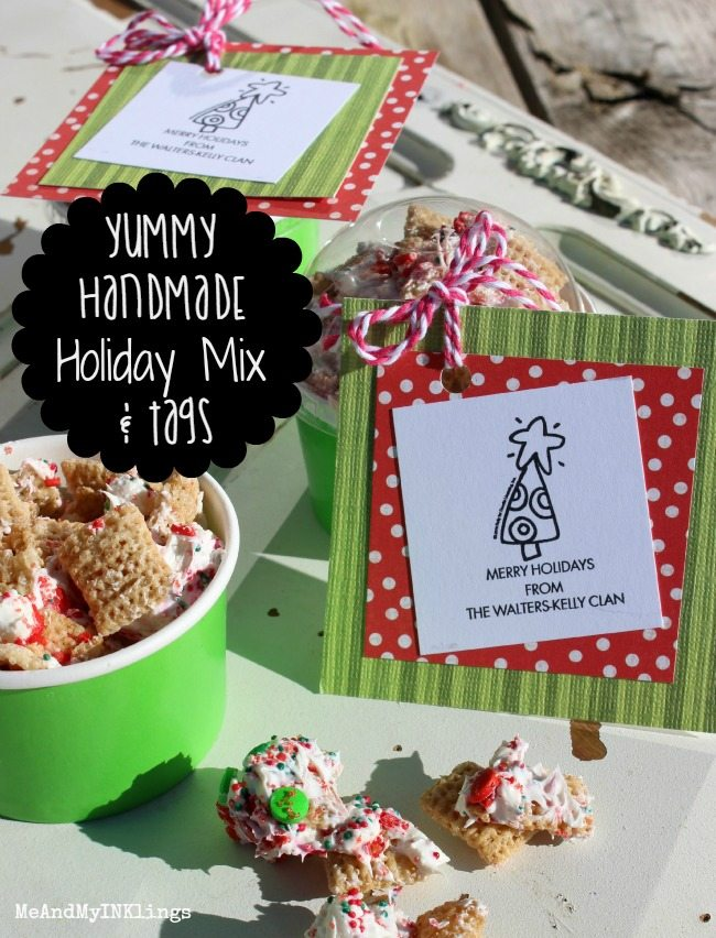 Whip up this quick and easy recipe for Holiday Sprinkle Treats!