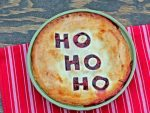 Christmas Cherry Pie - easy to make and so festive!