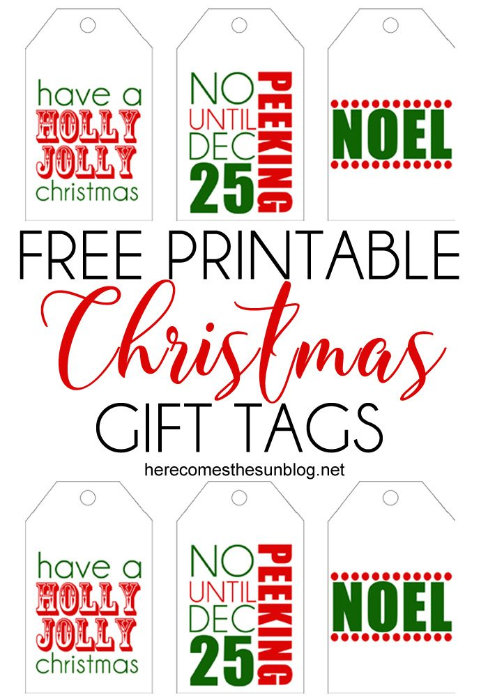 printable christmas gift tags title
