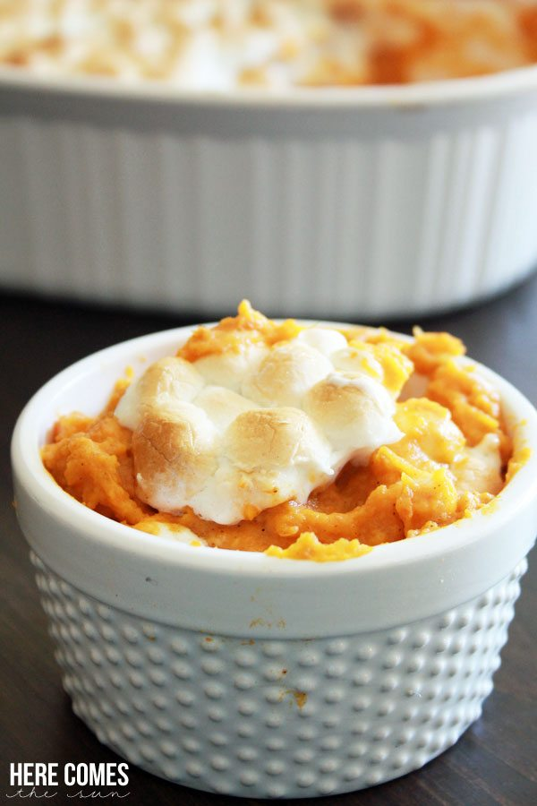 Skinny Sweet Potato Casserole Recipe...all the delicious goodness with fewer calories!