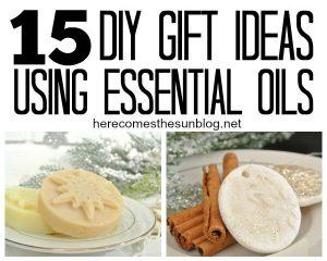 15 DIY Essential Oil Gift Ideas