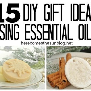Everyone will love receiving these gifts made with essential oils