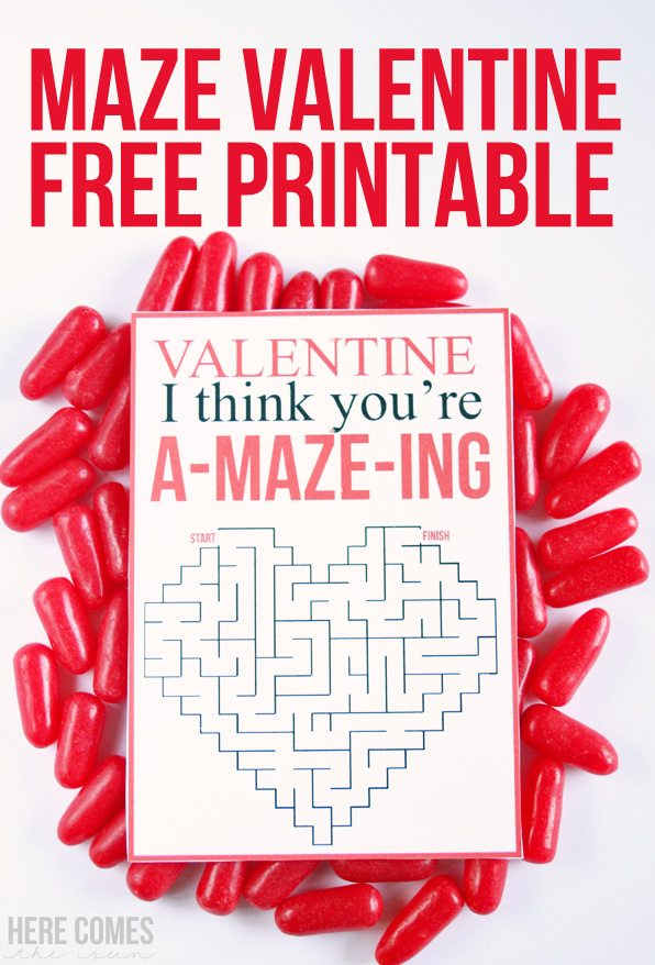 This Valentine is so adorable! I love that is a non-candy valentine.