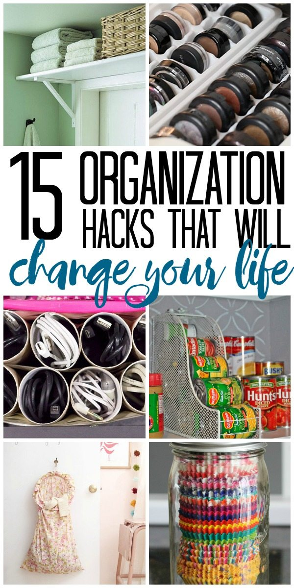 These organization hacks are so amazing!  I definitely need these to organize my life!