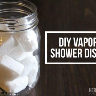DIY Vapor Shower Disks