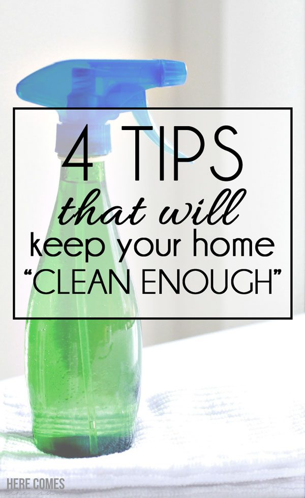 These tips are simple and brilliant! Keep your home clean enough. I definitely can do this!