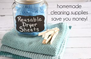 Reusable Dryer Sheets