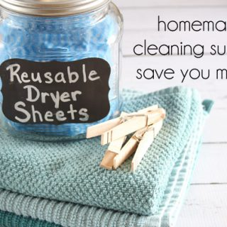 These reusable dryer sheets work so well! I'll never use store-bought sheets again!