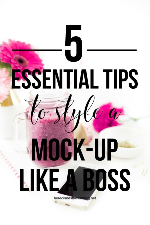 These essential tips will help you style a mock up for your business that will get results!