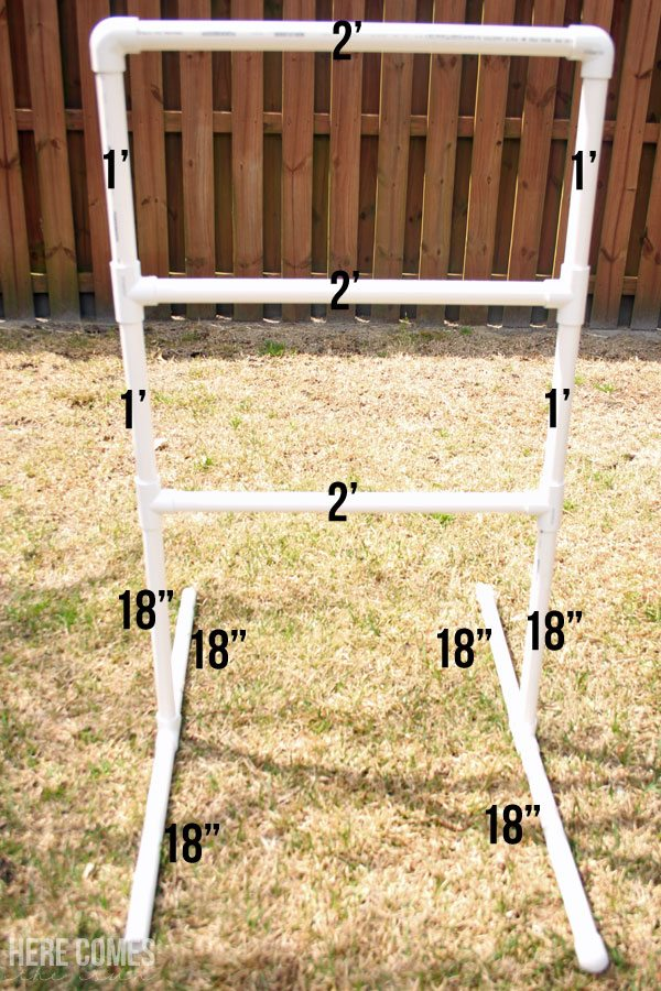Ladder Golf is the perfect outdoor game! easy to make with this step by step tutorial!