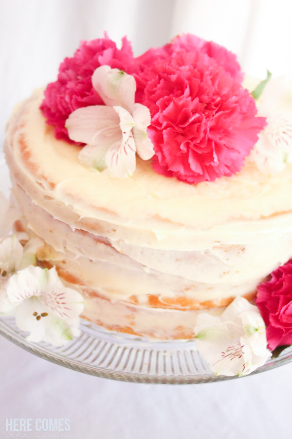 mothers day brunch cake