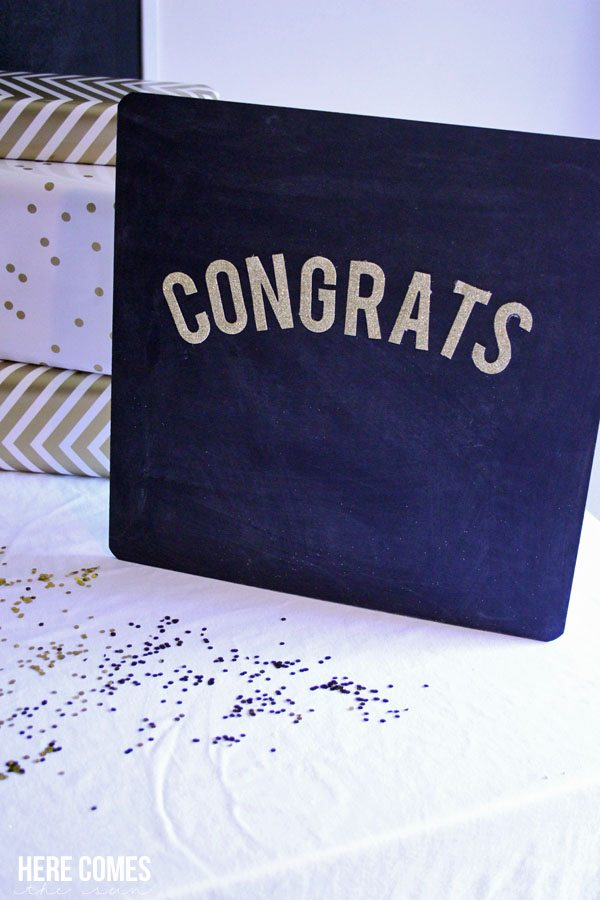 Decorating for a graduation party is easy with these tips!