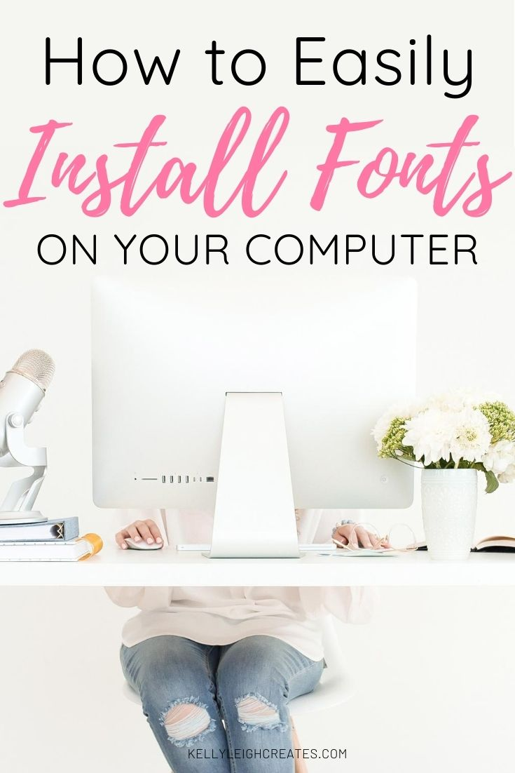 install fonts on computer