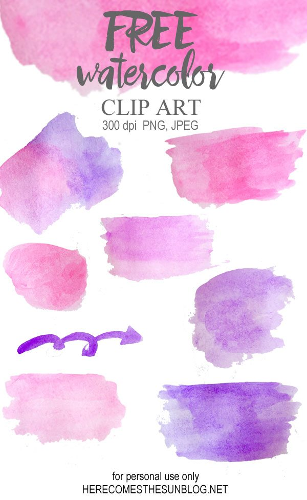 Clip Art Watercolor Clipart spring wreath watercolor clip art here comes the sun download your here