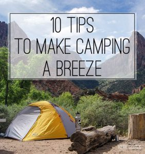 10 of the Best Camping Tips and Tricks