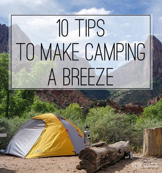 Top 10 Great Camping Recipes: 10 Of The Best Camping Tips And Tricks