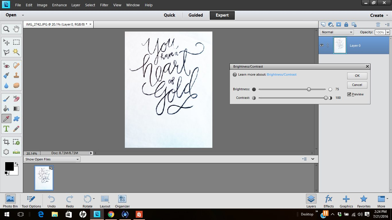 how to digitize handwriting 2
