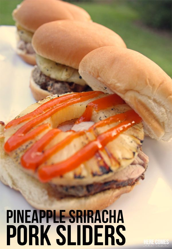 and not just any pork sliders pineapple sriracha pork sliders