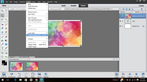 create-clipping-masks-with-photoshop-elements 3