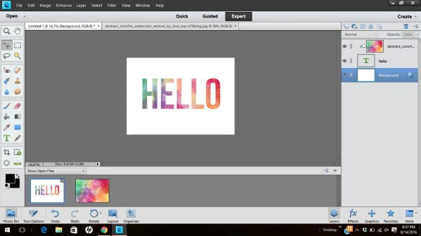 create-clipping-masks-with-photoshop-elements 4jpg