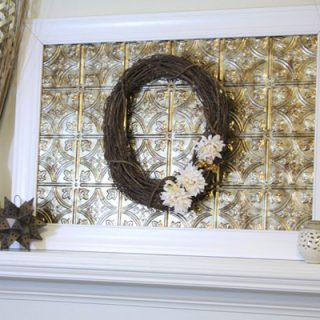 The Perfect Mantel Decor – A DIY Frame