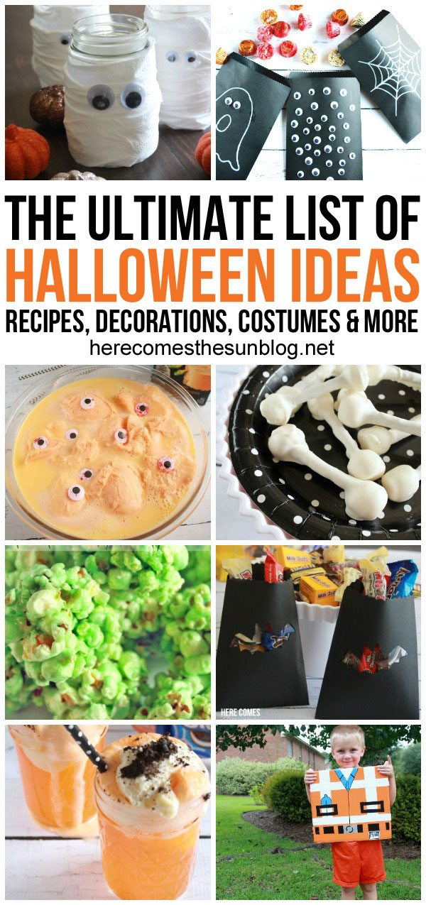The Ultimate List of Halloween Ideas