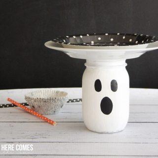 Halloween Ghost Dessert Stand