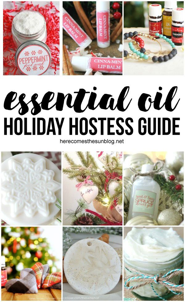 These essential oil gifts are perfect for the holidays!
